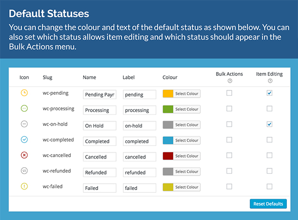 WooCommerce Order Status & Actions Manager 10