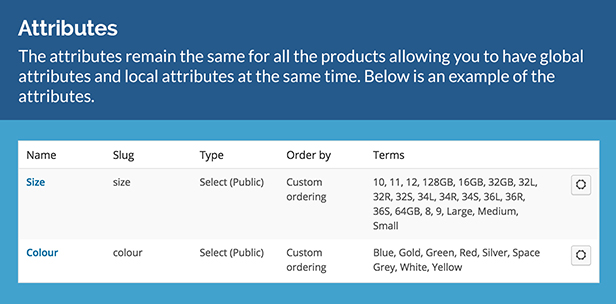 WooCommerce Product Attribute Label Editor 3