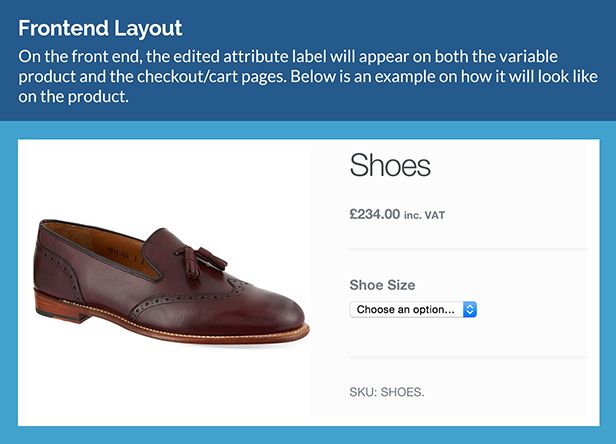 WooCommerce Product Attribute Label Editor 5