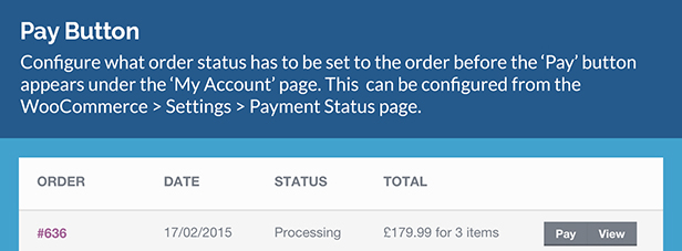 WooCommerce Payment Status 5
